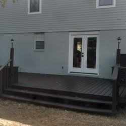 Before and After House Painting/ Deck Sealer in Metairie, LA. (2)